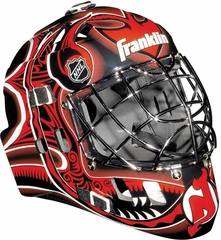 NHL Team SX Comp 100 Goalie Face Mask Devils - Franklin Sports
