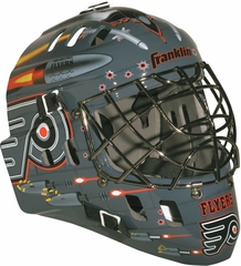 NHL Team SX Comp 100 Goalie Face Mask Flyers - Franklin Sports