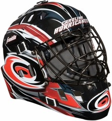 NHL Team SX Comp 100 Goalie Face Mask Hurricanes - Franklin Sports