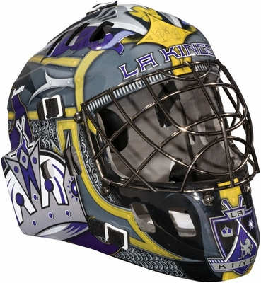 NHL Team SX Comp 100 Goalie Face Mask Kings - Franklin Sports