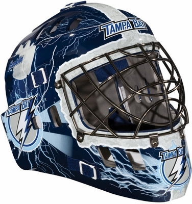 NHL Team SX Comp 100 Goalie Face Mask Lightning - Franklin Sports