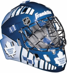 NHL Team SX Comp 100 Goalie Face Mask Maple Leafs - Franklin Sports
