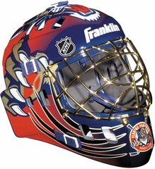 NHL Team SX Comp 100 Goalie Face Mask Panthers - Franklin Sports