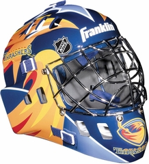 NHL Team SX Comp 100 Goalie Face Mask Thrashers - Franklin Sports