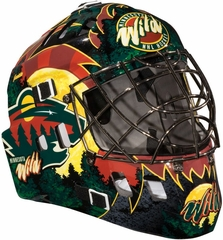 NHL Team SX Comp 100 Goalie Face Mask Wild - Franklin Sports