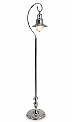Nickel Station Floor Lamp - IMAX - 7506