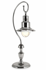 Nickel Station Table Lamp - IMAX - 7505