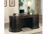 Nicolas Traditional Oval Executive Double Pedestal Desk - 800921