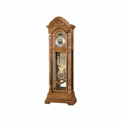 Nicolette Golden Oak  Floor Clock - Howard Miller