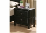 Night Stand - Danielle Night Stand in Dark Brown / Cappuccino - Coaster - 201262