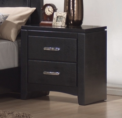 Night Stand - Dylan Night Stand in Black - Coaster - 201402