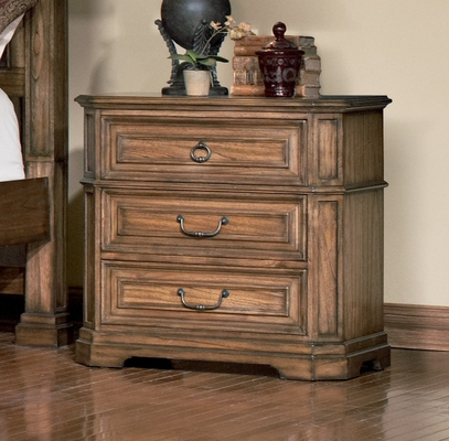 Night Stand - Edgewood Night Stand in Warm Brown Oak - Coaster - 201622