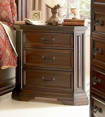 Night Stand - Foxhill Night Stand in Deep Cherry Brown - Coaster - 201582
