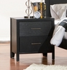 Night Stand - Grove Night Stand in Black - Coaster - 201652