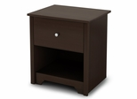 Night Stand in Chocolate - Vito - South Shore Furniture - 3119062