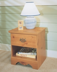 Night Stand in Pine - Mountain Pine - New Visions by Lane - 497-801