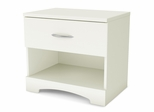 Night Stand in pure White - Step One - South Shore Furniture - 3160062