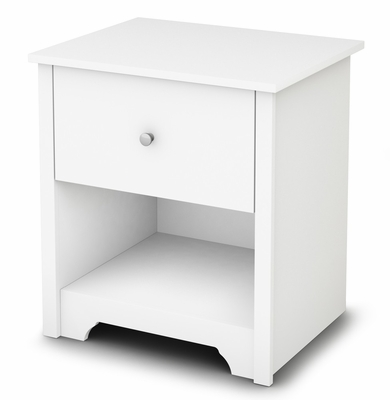 Night Stand in Pure White - Vito - South Shore Furniture - 3150062