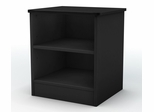 Night Stand in Solid Black - South Shore Furniture - 3070059