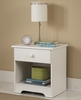 Night Stand in White - My Space, My Place - New Visions by Lane - 866-812
