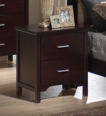 Night Stand - Kendra Night Stand in Mahogany - Coaster - 201292