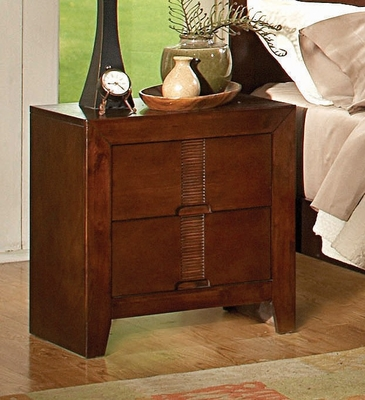 Night Stand - Resin Night Stand in Country Cherry - Coaster - 200752