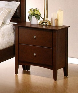 Night Stand - Tamara Night Stand in Walnut - Coaster - 201152