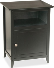 Night Stand with Shelf and Storage - Winsome Trading - 20115
