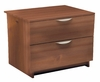 Nightstand - 2 Drawer Night Stand - Nocce Collection - Nexera Furniture - 401214