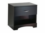 Nightstand - Night Table in Chocolate - South Shore Furniture - 3159062