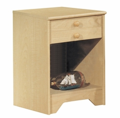 Nightstand - Night Table in Natural Maple - South Shore Furniture - 2713062