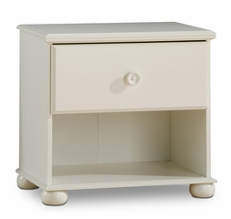 Nightstand - Night Table in Pure White - South Shore Furniture - 3660062