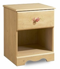Nightstand - Night Table in Romantic Pine - South Shore Furniture - 3272062