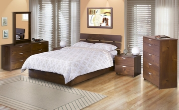 Nocce Bedroom Furniture Set 2 - Nexera Furniture - 400036