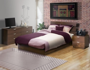 Nocce Bedroom Furniture Set 4 - Nexera Furniture - 400133