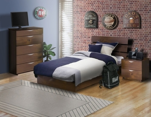 Nocce Bedroom Furniture Set 5 - Nexera Furniture - 400135