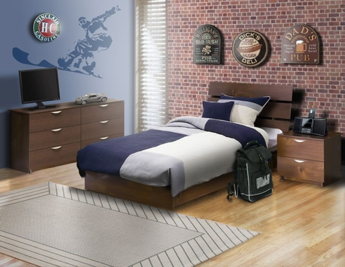 Nocce Bedroom Furniture Set 6 - Nexera Furniture - 400132