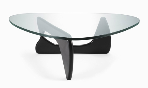 Noguchi Tribeca Coffee Table in Black - GEF-222BLACK