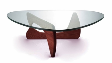 Noguchi Tribeca Coffee Table in Walnut - GEF-222WALNUT
