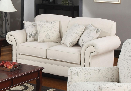 Norah Antique Inspired Loveseat - 502512