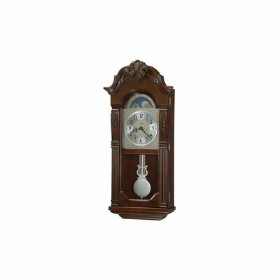 Norristown Distressed Pendulum Wall Clock - Howard Miller