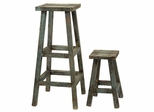 Northfork Decorative Stools (Set of 2) - IMAX - 29103-2