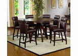 Nottingham 7-Piece Counter Height Dining Room Furniture Set - Hillsdale Furniture - 4077DTBCGS7