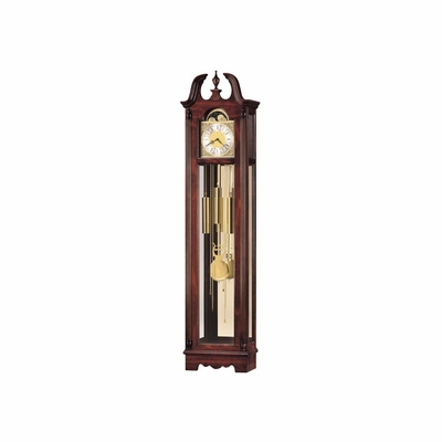Nottingham Grandfather Clock in Windsor Cherry - Howard Miller