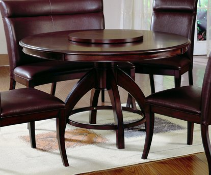 Nottingham Round Pedestal Dining Table - Hillsdale Furniture - 4077DTB