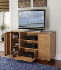 Nova Entertainment Credenza in Teak - Home Styles - 5526-10
