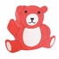Novelty Lamp - Barry the Bear Lamp in Red - LumiSource - IV-TEDDY-BEAR