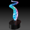 Novelty Lamp - Mini Sculptured Electra Lamp in Blue / Multi - LumiSource - MH-SE3SM-BV
