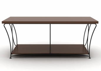 Nuvo 2-Tier Mocha TV Stand - Atlantic - 88335760