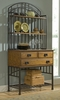 Oak Hill Buffet Server with Baker's Rack in Oak - Home Styles - 5050-615